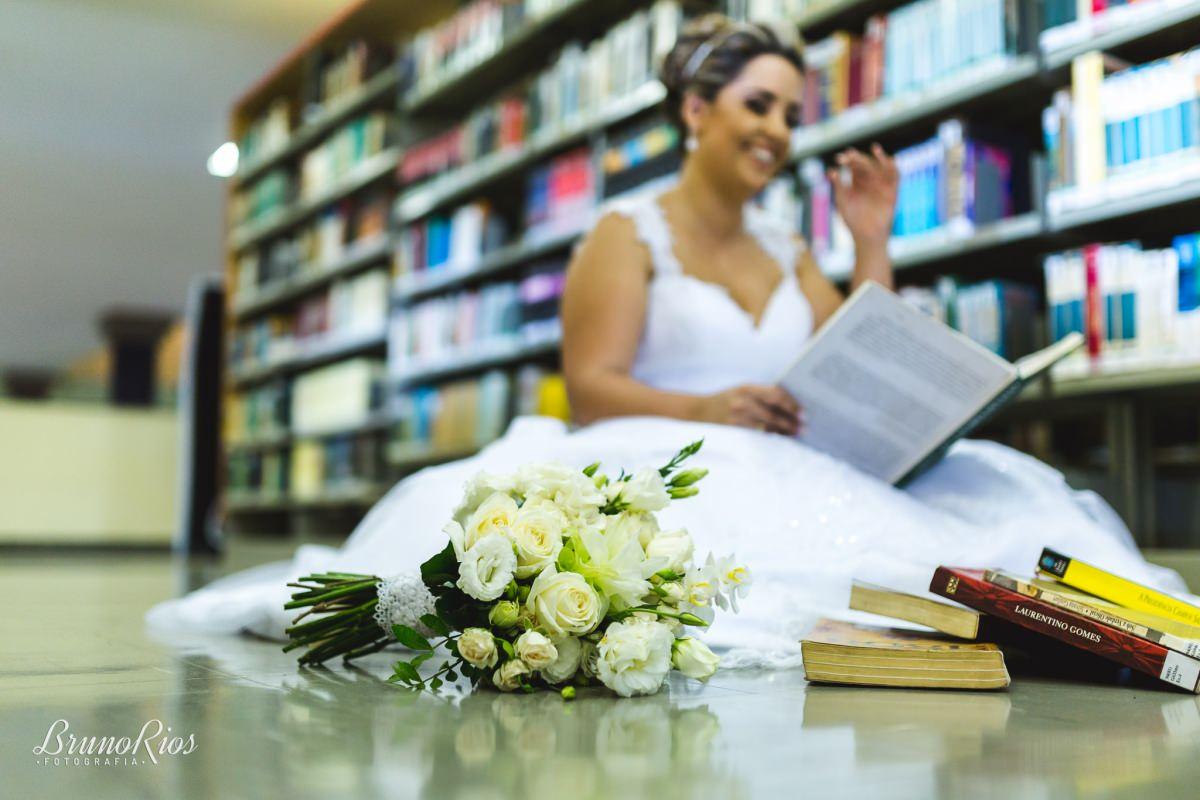 prévia - noiva - juliana - brasília - ucb - biblioteca