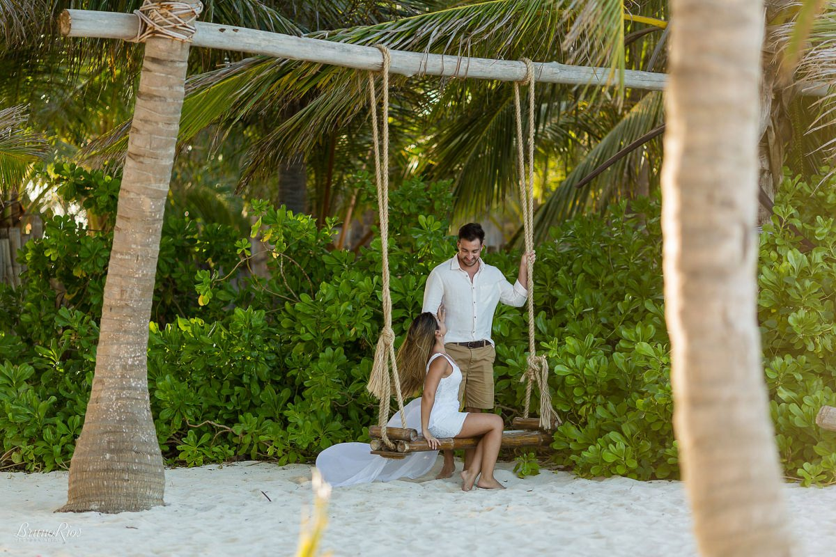 ensaio noivos punta cana caribe praia deserta e-session punta cana balanço