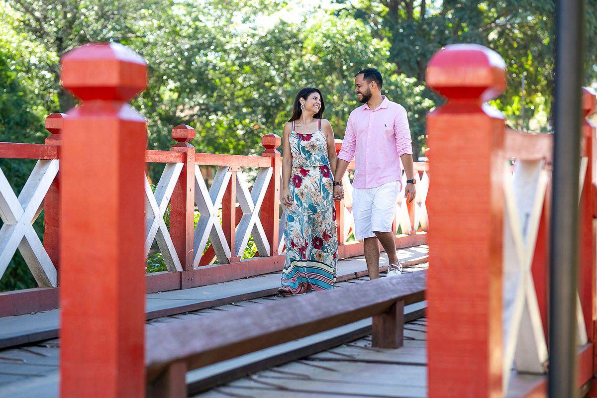 ensaio casal noivos pirenópolis goiás ponte vermelha